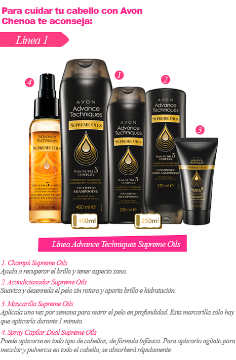Línea Advance Techniques Supreme Oils